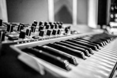 Synth Instrument Music Backround