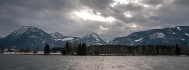 Lake   Mountain   Winter