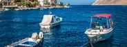 Motor boats greece