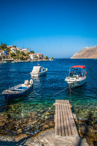 Motor boats greece