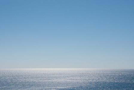 Sun  ocean water