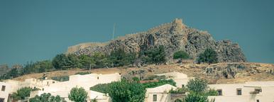 Lindos   rhodos   island