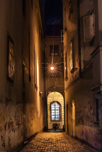Ancient street in vienna