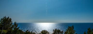 View to the ocean   mallorca