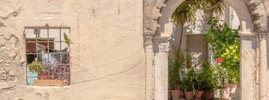 Greek facade