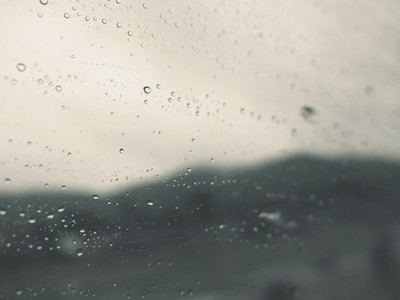 Abstract background of rain drop
