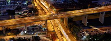 Bangkok Night Cross Roads