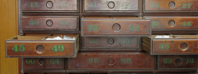 Old Prayers Drawers