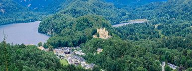 Hohenschwangau Castle in Fussen