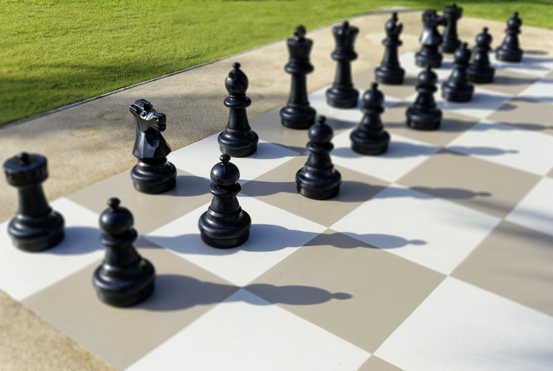 Giant Chess Pieces  1