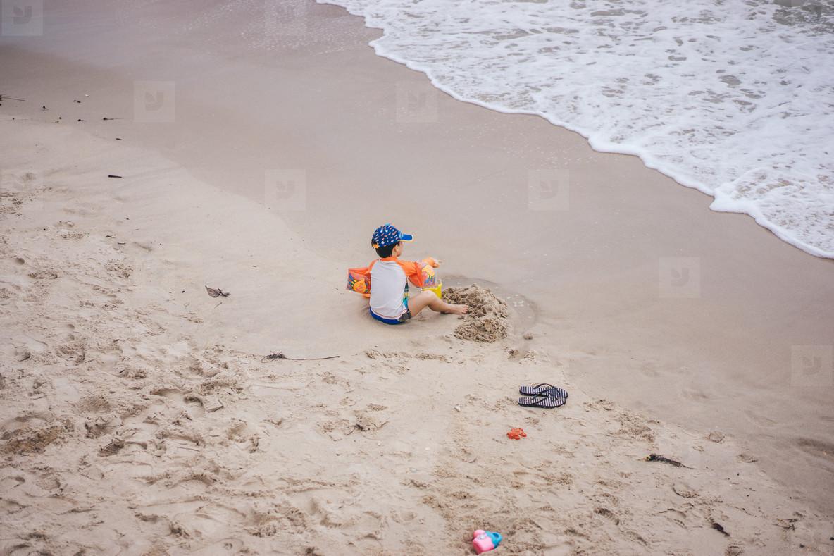 Boy at Beach