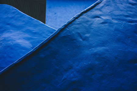 Blue Wall Surface