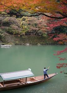 Sailing boat  Arashiyama
