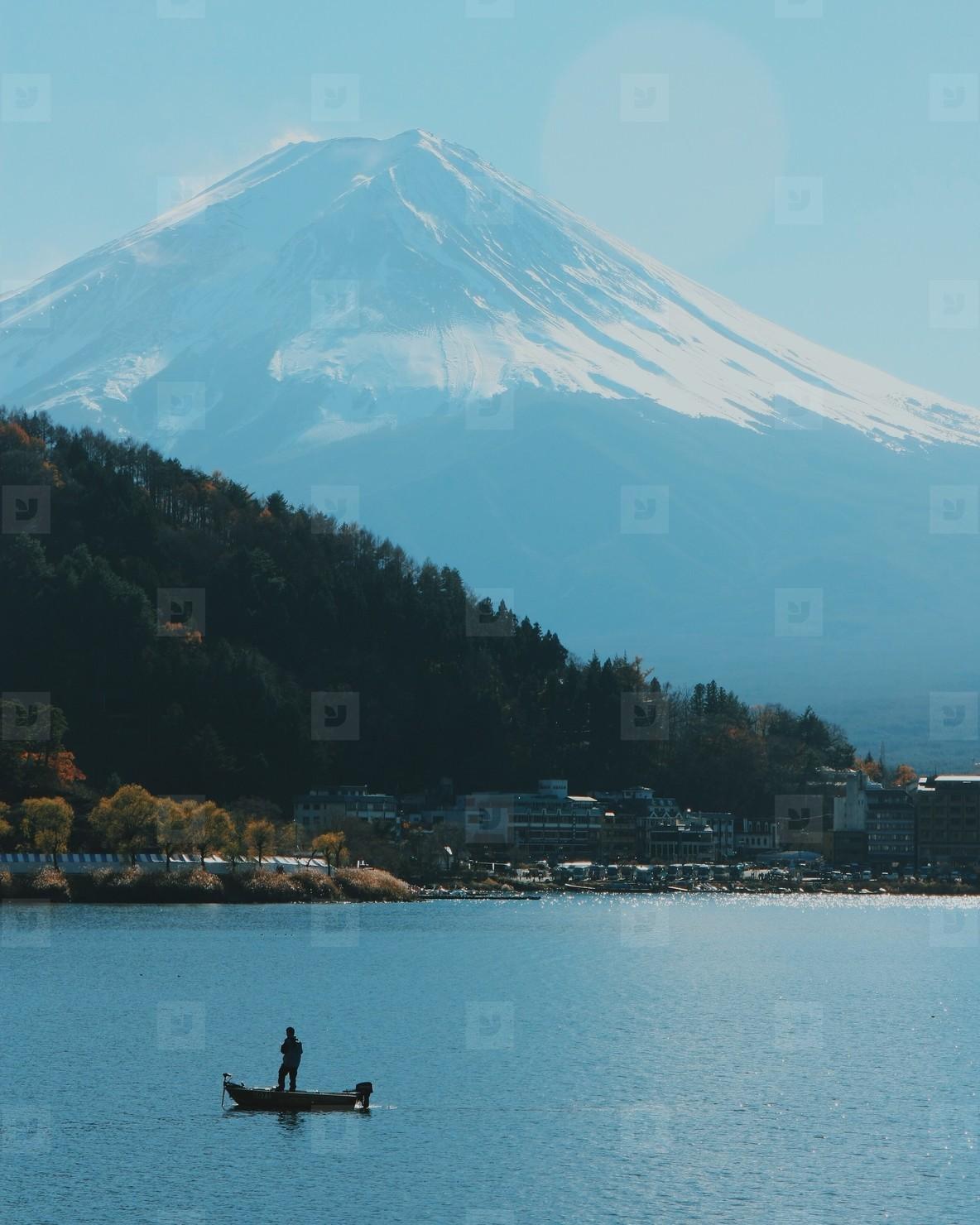Life on the lake  Japan
