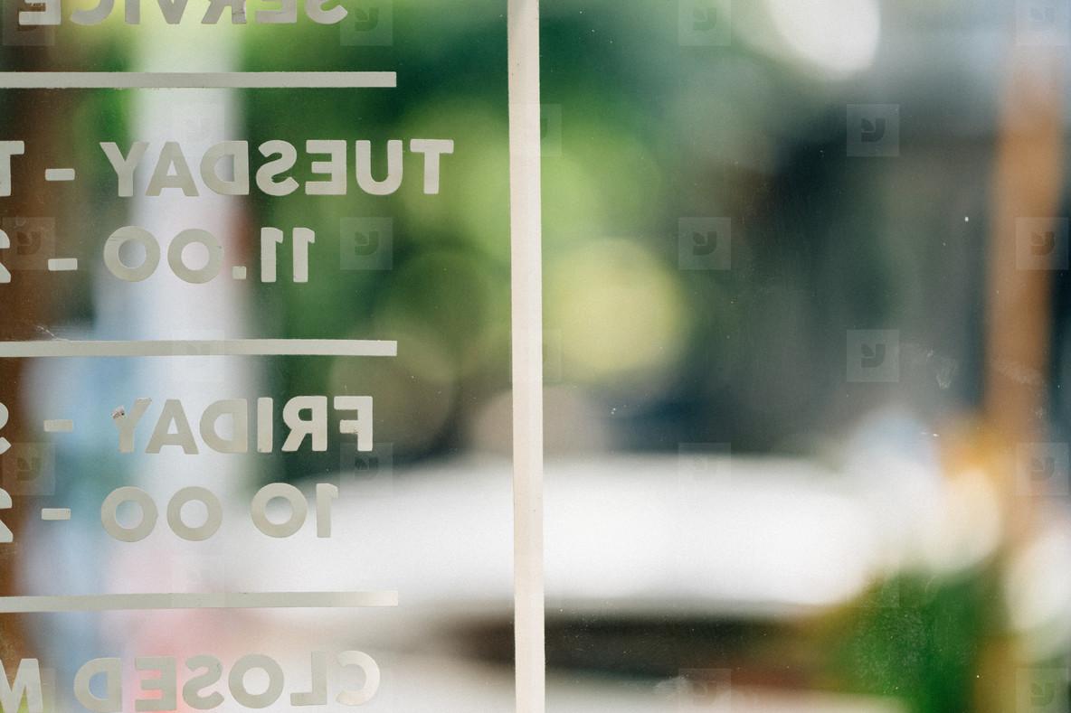 Bokeh Signage