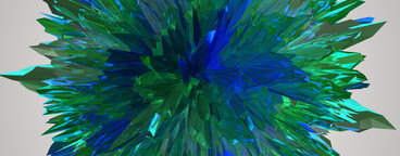 abstract crystal