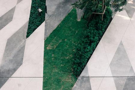 Garden Grid Pattern