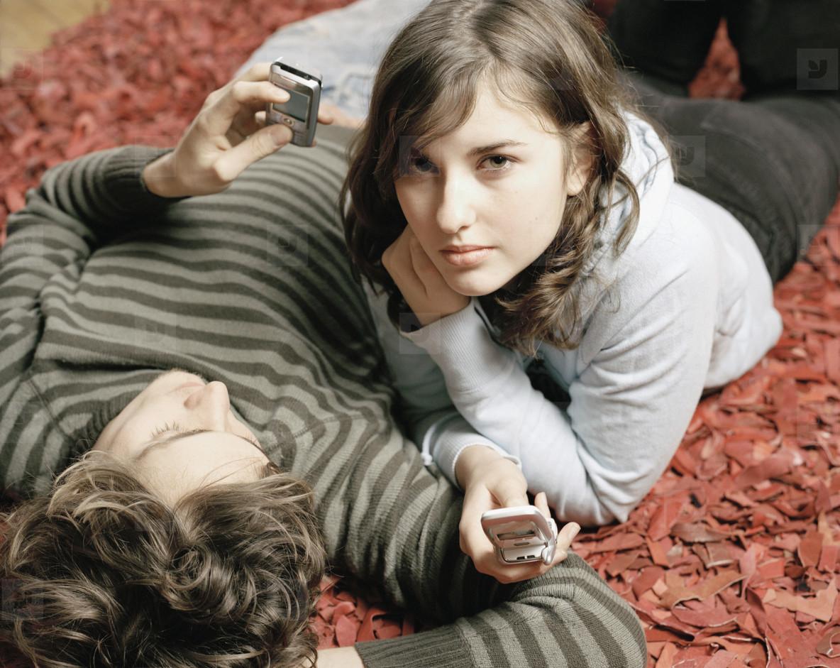 Teenage Couple Fun  01