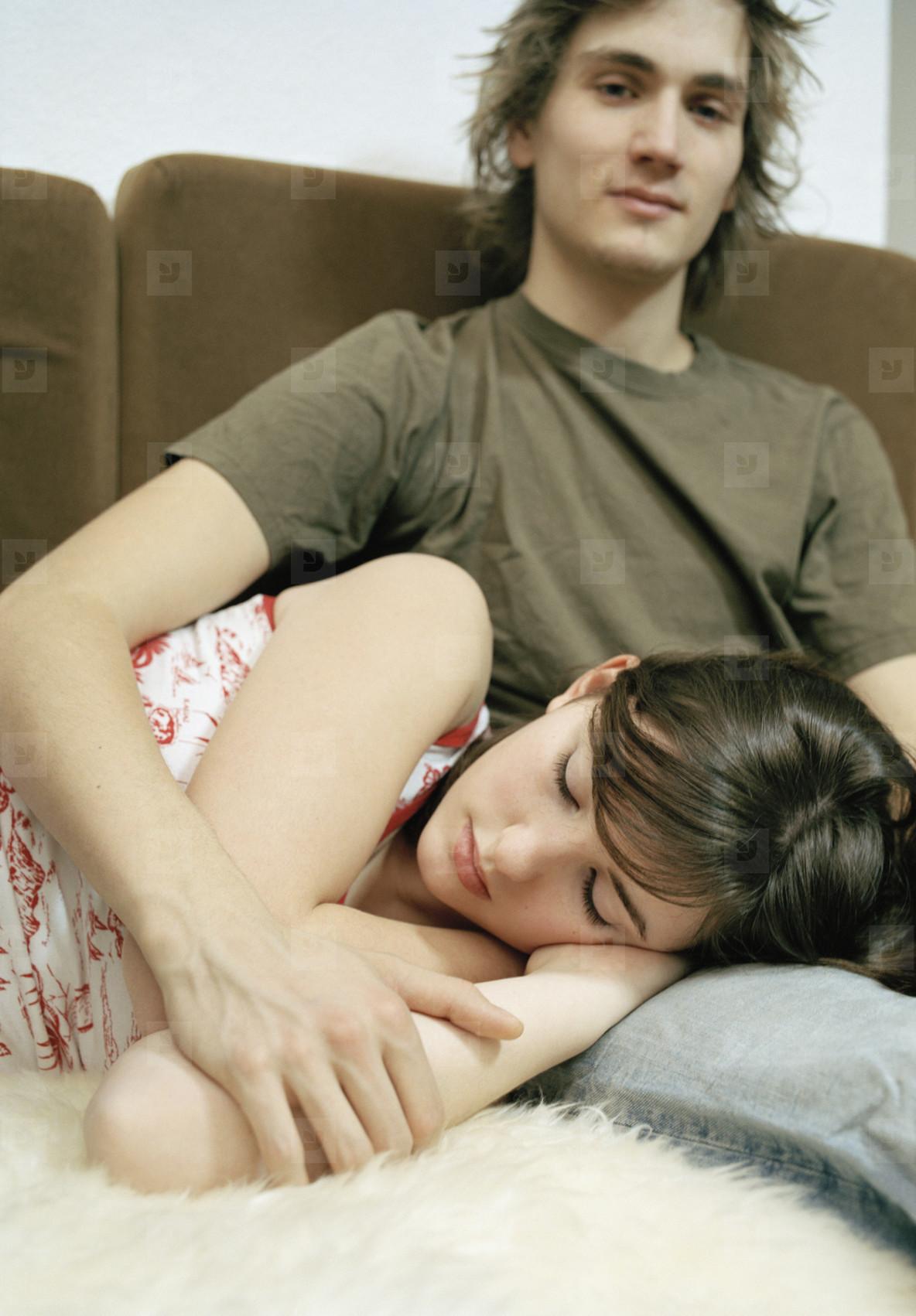 Teenage Couple Fun  15