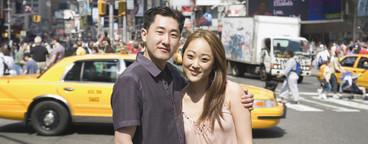 Chinese Tourist Couple NYC  03