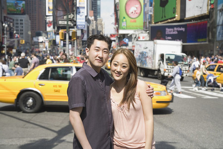 Chinese Tourist Couple NYC 03