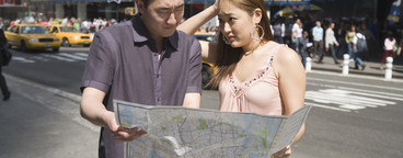 Chinese Tourist Couple NYC  05