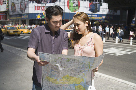 Chinese Tourist Couple NYC 05