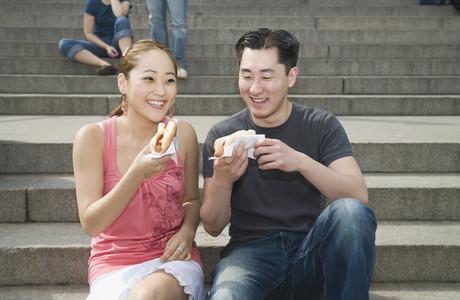 Chinese Tourist Couple NYC 07
