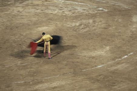 Bullfights and a Fire 03