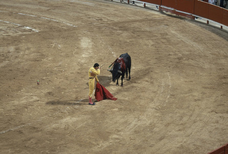 Bullfights and a Fire 04