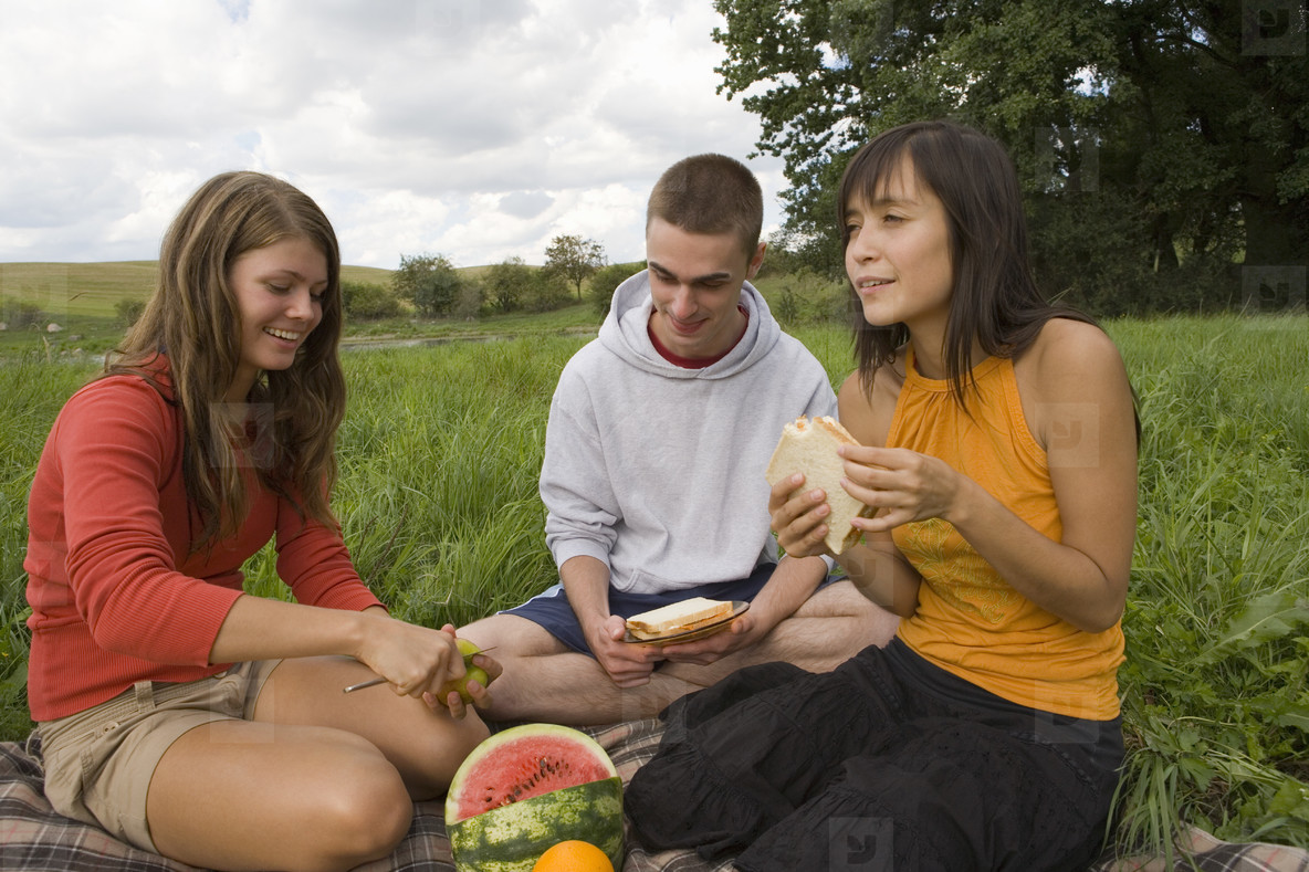 Teenagers in Nature  10