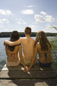 Teenagers in Nature 13