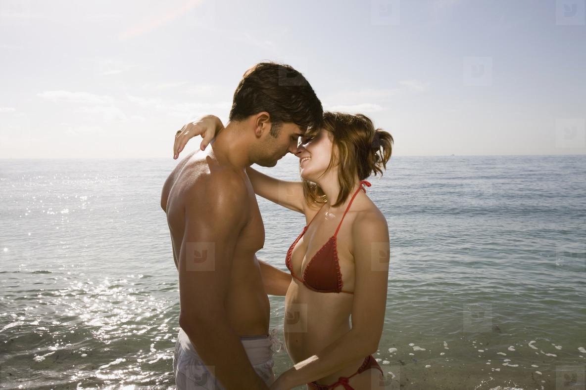 Hot Couple on the Beach  15