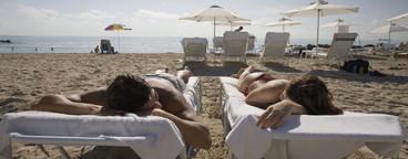 Hot Couple on the Beach  16