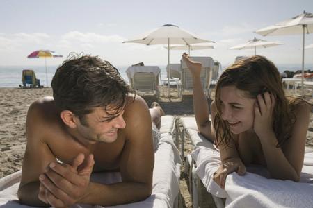 Hot Couple on the Beach 21