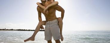 Hot Couple on the Beach  22