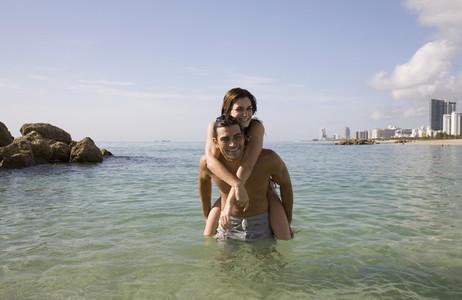 Hot Couple on the Beach 26