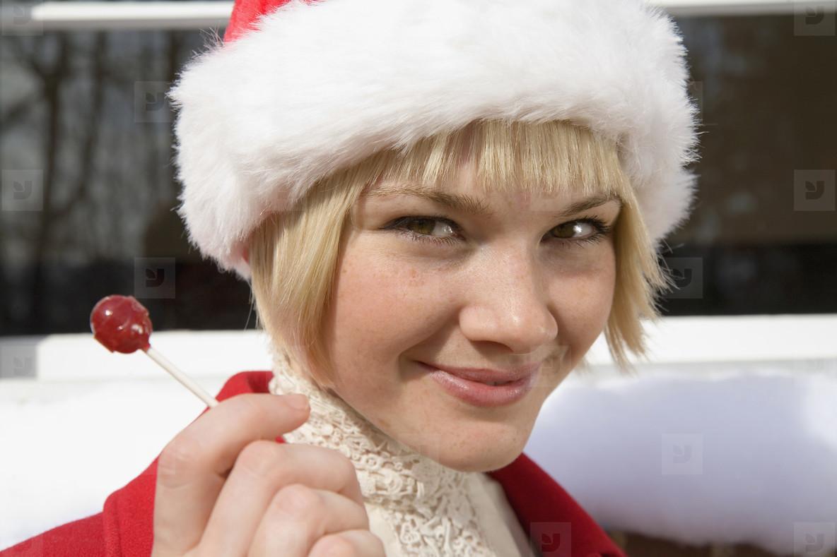 Happy Holiday Winter Girl  44