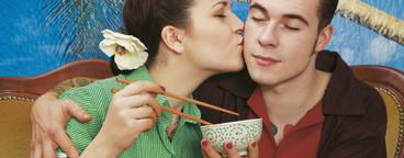 Retro Sushi Couple  17