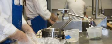 Industrial Kitchen Action  01