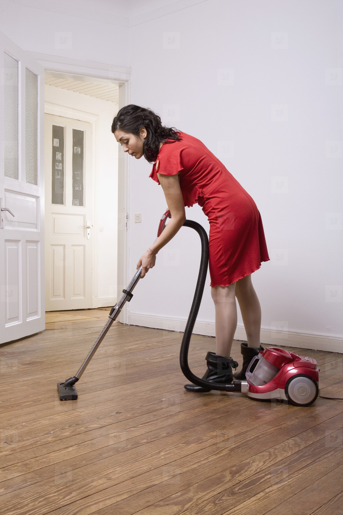 Couple Doing Chores at Home  11