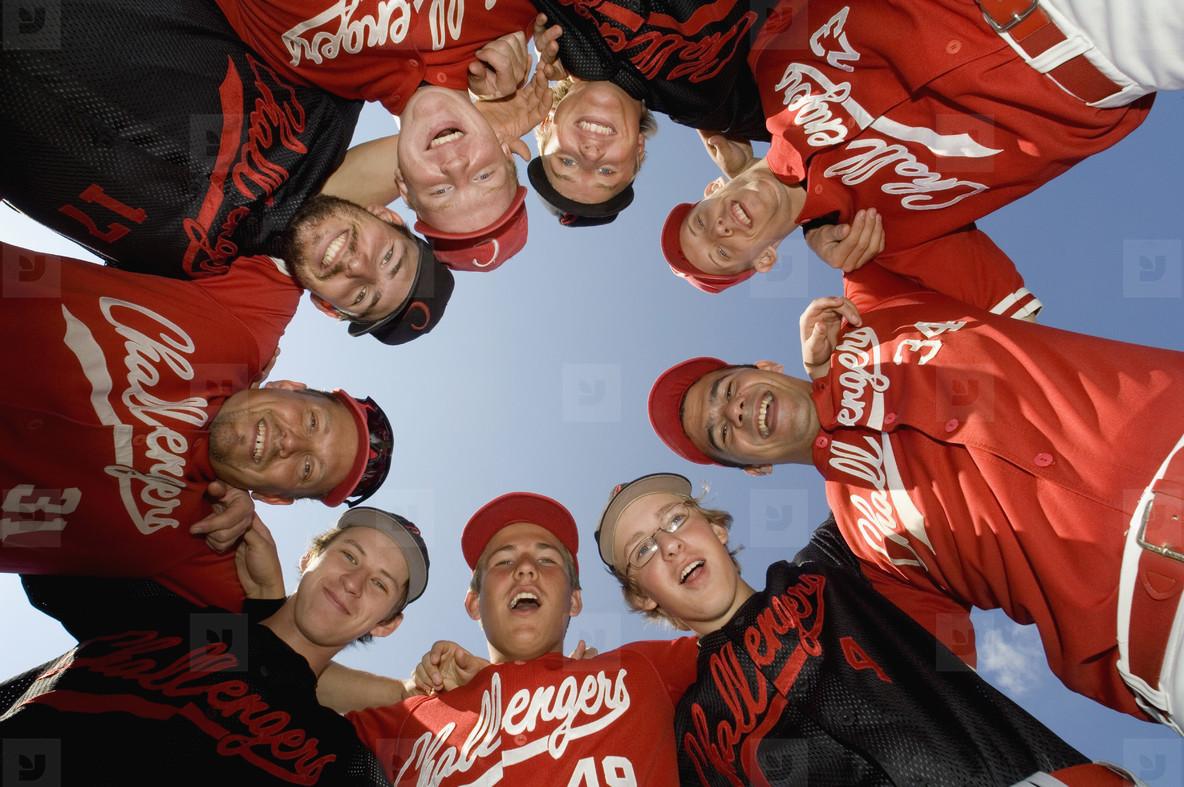 Baseball Team Action  03