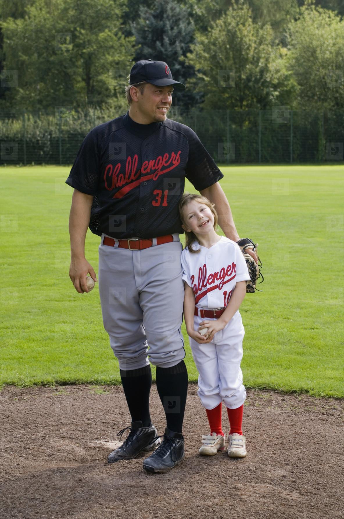 Baseball Team Action  09