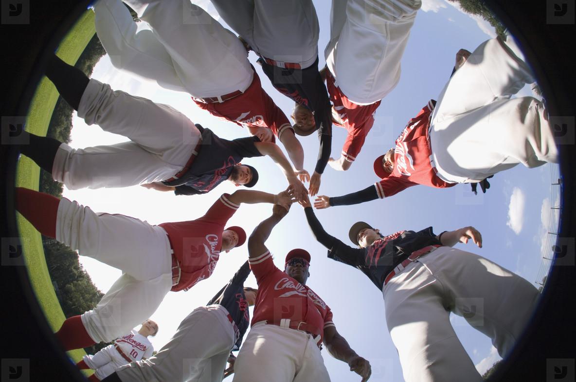 Baseball Team Action  17
