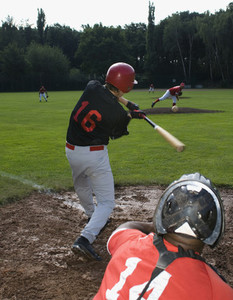 Baseball Team Action 21