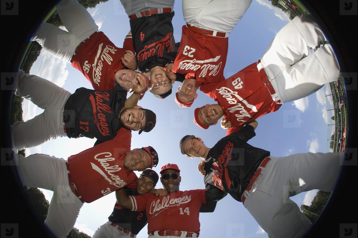 Baseball Team Action  22