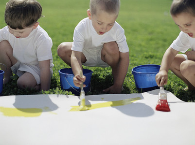 Fingerpainting Party 19