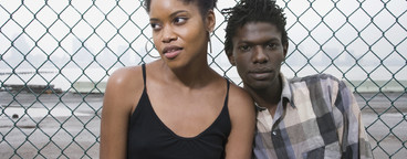 Urban Black Couple  01