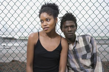 Urban Black Couple 01