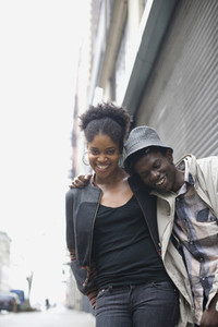 Urban Black Couple 09